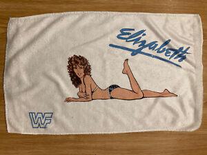WWF 1988 Mock Mini Miss Elizabeth Towel 16in X 24in Microfiber Cloth