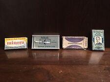 Vintage Double Edge Razor Blades Shaving Gillette Schick Minora Cnymhuk CCCP