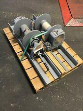 Tulsa Rufnek Winch 10,000 lbs Line Pull, Mechanical Worm Gear New Rn10Wm-Rfo