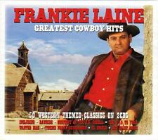FRANKIE LAINE - GREATEST COWBOY HITS - 50 WESTERN THEMED CLASSICS  (NEW 2CD)
