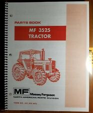 Massey Ferguson Mf 3525 Tractor Parts Book Manual 651 492 M92 285