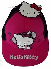 BNWT hello kitty music à Thème Baseball Soleil Casquette 4-8 ans