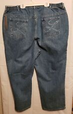 Liz and Me Signature Women's Plus Size 22WP Blue Boot Cut Petite Denim Jeans NWT