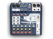 SOUNDCRAFT Notepad 8FX Mixer usb 8 canali con effetti