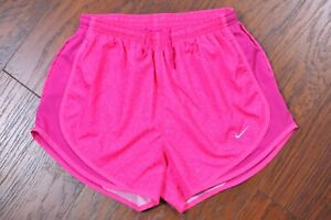 Nike Dri-Fit Tempo Lined Running Shorts Pink Print Women's Small S