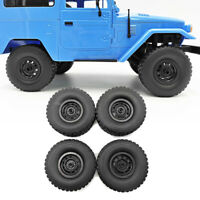 4pcs Upgrade Rubber Tire Wheels Tyre Parts For WPL C34 4WD FJ40 RC Car DIY Toys