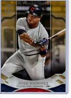 Jose Ramirez 2019 Topps Tribute 5x7 Gold #70 /10 Indians