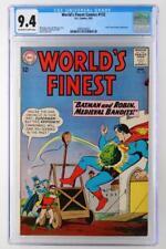 World's Finest Comics #132 - CGC 9.4 NM - DC 1963 - Prof. Nichols App!