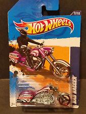 2012 Hot Wheels #137 HW City Works '12 7/10 - Bad Bagger - Red