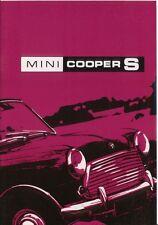 Mini Cooper S Mark III High quality Reprint  Handbook 1971 No. AKD 7364
