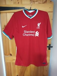 """LIVERPOOL HOME 2020-21 FOOTBALL SHIRT BY NIKE SIZE 3XL 48/50"""" - NEW"""