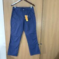 Outdoor Research Women's Wallflower Pants Size 8 Indigo Blue UPF 50+ Solarshield