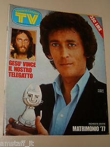 TV SORRISI E CANZONI=1977/20=ORZOWEI=GUIDO LEONTINI=MASTELLONI=BRANDUARDI=POWELL