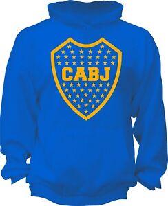 Boca Juniors Argentina Hooded Sweatshirt Hoodie Hoody Sudadera Xeneize