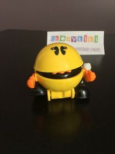 Vintage 1980's PAC-Man Tomy Wind Up Walking Toy Working (Branding Inside Mouth)