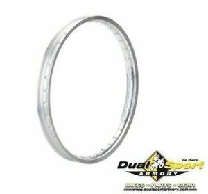 Tusk Impact Rim-Front 36 Spoke Hole,21 x 1.6 Silver,Honda CR/CRF/CRF-X,Motocross