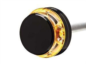 Motogadget M Blaze Disc LED Handlebar Ends Indicator Right Black Signal