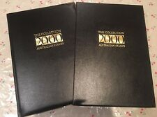 2000 Australian Post Year Book Album Stamps - Executive Leather Black Edition