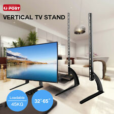 "Universal Table Top TV Stand Leg Mount LED LCD Flat TV Screen 32-65"" For Sony LG"
