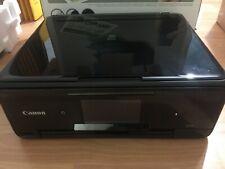 Canon PIXMA TS8150 All-In-One Printer Inkjet Wireless A4 Black