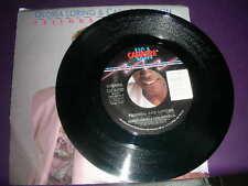 "Pop 45 Gloria Loring Carl Anderson ""Friends & Lovers"" Carrere 1986  NM"