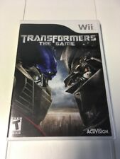Transformers: The Game (Nintendo Wii, 2007) Brand New Sealed, 8221