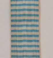 Ruban de la médaille du Levant,14 cm, tissage ancien