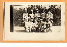 Real Photo Postcard RPPC - Cubs Baseball Team - Sports