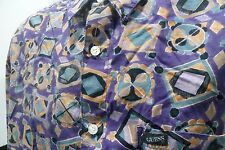 Vintage Guess by Georges Marciano 90's Shirt Size Large (L) Purple