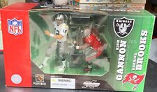 Mcfarlane NFL Football Rich Gannon Derrick Brooks Figure 2 Pack Brand New NIB