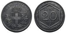 20 centesimi 1920 Esagono quasi SPL - R