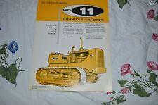Allis Chalmers HD-11 Crawler Tractor Dealers Brochure YABE11 Ver38