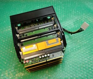 4 x HP 444361-001 xw6600 xw8600 Workstation Memory Riser Boards with Cage