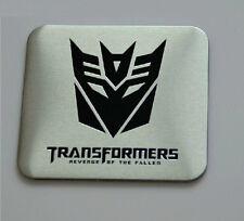 Car  Transformers Decepticon Emblem Sticker Badge Trunk Side Emblem  Metal