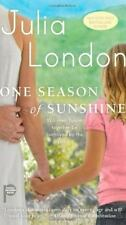 One Season of Sunshine by Julia London (2010, Paperback)     GOOD