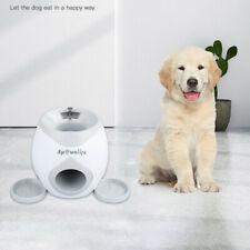 Dog Tennis Ball Launcher Pet Toys Interactive Training Thrower Feeding Reward