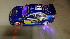 Subaru Impreza style WRC Radio Remote Control Car 20MPH 1:10 Scale RC function