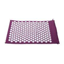 Carpet Mat for Acupressure Acupuncture Yoga Massage Carry Bag Purple H4n8