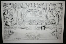 Wonderful World of Oz - Wizard of Oz Theme Park Design Art by William Stout