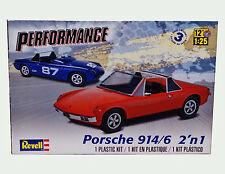 Revell Monogram 4378  1968 Porsche 914/6 Targa 2 in 1 Model Kit 1/25