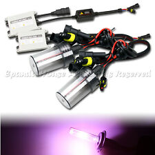 HIGH END USA 55W 9006/HB4 SLIM HID KIT FOR LOW BEAM LIGHTS AC 12000K PINK JDM