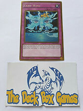 YUGIOH: FAIRY WIND, PGL3, 1ST EDITION, GOLD