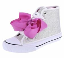 Clothing, Shoes & Accessories Jojo Siwa Mermaid High-top Flip Sequin 3d Bow Sneaker Shoes Teal Pink Girls Sz 1 High Quality And Inexpensive