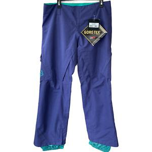 NWT $369 Burton AK 2L Gore-Tex Women's Summit Snowboard Pants Size Large Purple