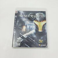 TimeShift (Playstation 3, 2007) PS3 Tested Working Genuine Authentic