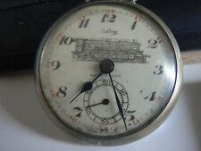 VINTAGE montre de gousset CHEMIN DE FER TRAIN CALVY