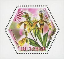 Orchid Plant Flower Nature Cypripedium Mini Souvenir Sheet Mint NH