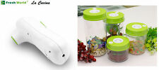 Vacuum Food Preservation Pump Containers Kitchen Food Sealer Canisters LA CUCINA