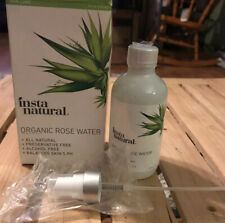Insta Natural Organic Rose Water 120ml / 4 oz,