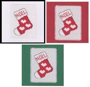 Christmas Cross Stitch Card Kit - Stocking